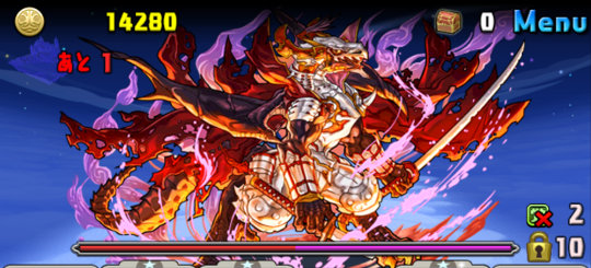 緋炎の雲海都市 六階 3F 義憤の天魔龍・ノブナガ