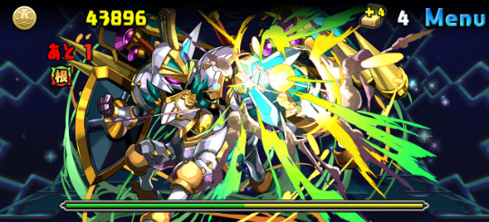 デウス=エクス=マキナ降臨! 超地獄級 6F 光の機神将・シェロスパーダ
