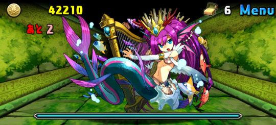 裏・樹水の祠 5ステージ 9F 大海の歌姫・セイレーン
