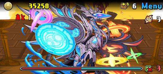 ガイノウト降臨!【特殊】 超絶地獄級 8F フォークロア