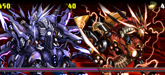 火と闇の鉄星龍<火属性強化> 超級 6F ベテルギウス、ハダル