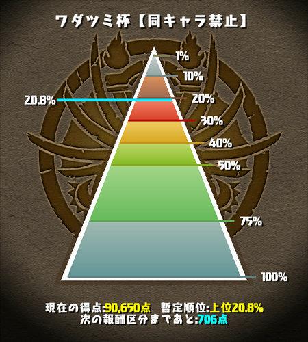 ワダツミ杯 カンナパ 上位20%