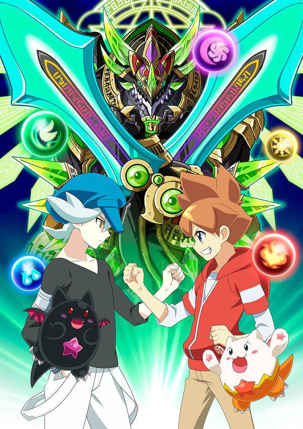 パズドラアニメ キービジュアル