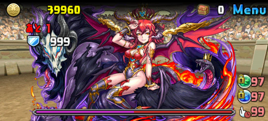 チャレンジダンジョン25 Lv9<攻撃悪魔強化> 5F 闊達の灼冥魔・スカーレット