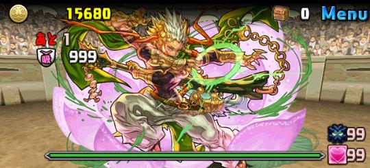チャレンジダンジョン25 Lv10<体力ドラゴン強化> 2F 秩序の創界神・ヴィシュヌ