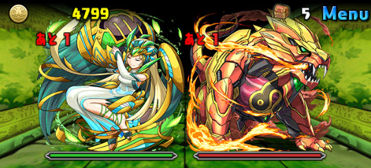 木と焔の鉄星龍<木属性強化> 中級 ボス バルゴ、レオ