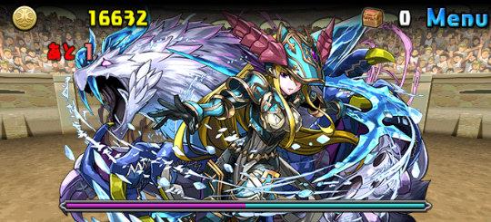チャレンジダンジョン26 Lv9 2F 隔世の蒼竜喚士・ソニア