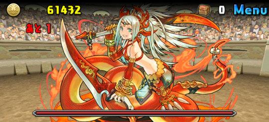 チャレンジダンジョン26 Lv9 3F 紅蓮華の女傑・エキドナ