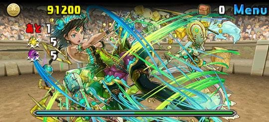 チャレンジダンジョン26 Lv10 ボス3 創造の緑機操士・クラジュ=マキナ