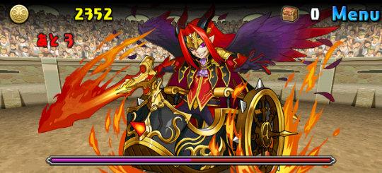 チャレンジダンジョン27 Lv6 2F 邪炎の魔神将・ベリアル