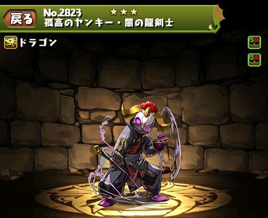 孤高のヤンキー・闇の龍剣士のステータス