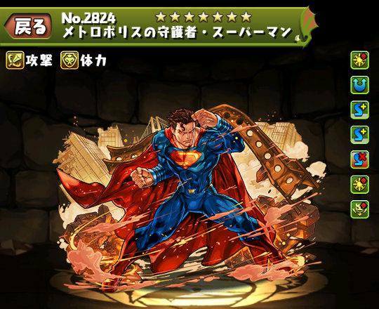 メトロポリスの守護者・スーパーマンのステータス