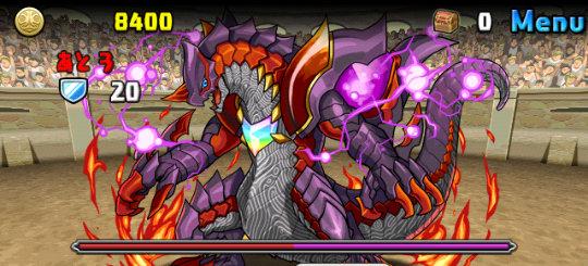 チャレンジダンジョン28 Lv6 2F 紫石龍・ダマスカス
