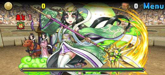 チャレンジダンジョン28 Lv9 1F 竹取の翠月花・かぐや姫
