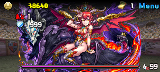 特殊降臨ラッシュ!【特殊】 超絶地獄級 2F 闊達の灼冥魔・スカーレット