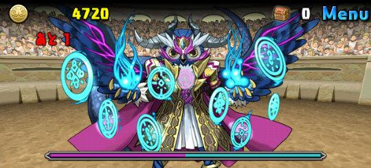 チャレンジダンジョン29 Lv6 3F 義侠の魔神将・アモン