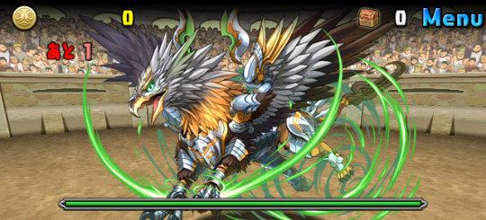 チャレンジダンジョン30 Lv6 1F 王家の狩猟獣・グリフォン