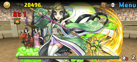 チャレンジダンジョン31 Lv7 4F 竹取の翠月花・かぐや姫