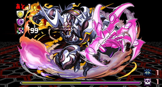 リバティーガイスト降臨! 絶地獄級 ボス幻獣 闘機帝・アナザーガイスト