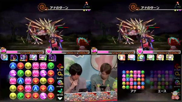 【生放送】とうふ&LUKAのパズドラクロスチャレンジ成功!+297を1体配布決定