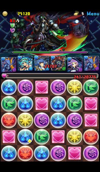 ゼウス&ヘラ降臨 超地獄級 5F 覚醒ハーデス