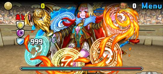 チャレンジダンジョン40 Lv9 1F 紅輪の魔導姫・テウルギア