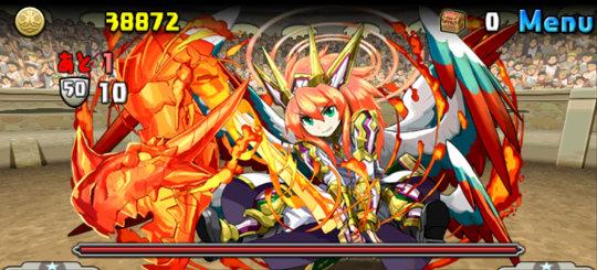 チャレンジダンジョン41 Lv10 5F 龍焔の熾天使・ウリエル