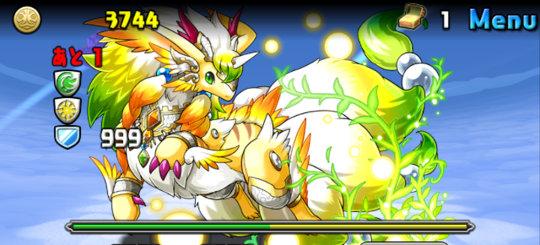 エノク降臨! 絶地獄級 2F 聖獣龍・エンジェリオン