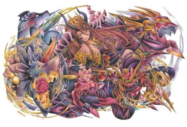 パズドラ塗り絵コンテストの受賞作品が決定ゲーム内実装される覚醒