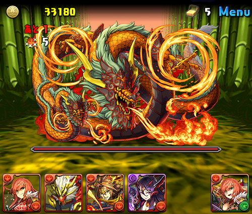 火の戦武龍 公式ショット