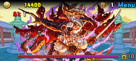 ルシャナ降臨! 壊滅級 2F 義憤の天魔龍・ノブナガ