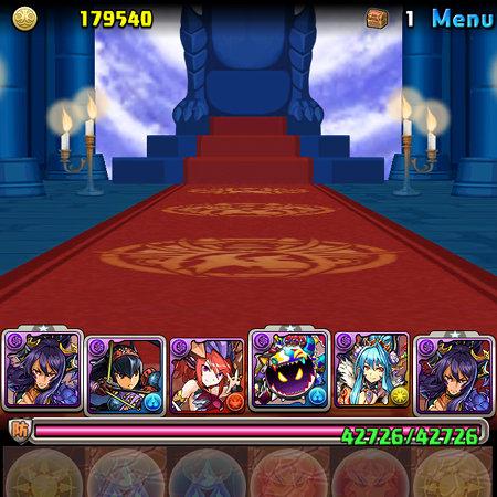王妃の舞踊神殿 一階 ボス ヘラ撃破
