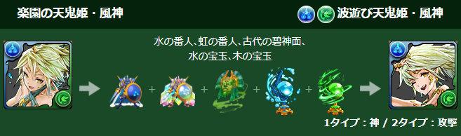 楽園の天鬼姫・風神が究極進化!1