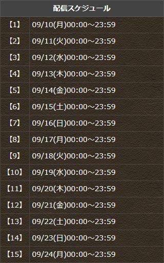 『イベント記念ダンジョン!』配信!2