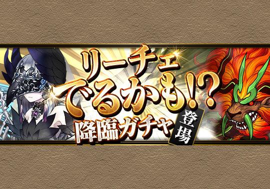 9月22日から9日間連続で「リーチェでるかも!?降臨ガチャ」を実施!無料でリーチェを当てる幸運ユーザーはあなたかも!?