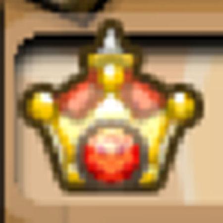 のっちの王冠が金冠に変わった
