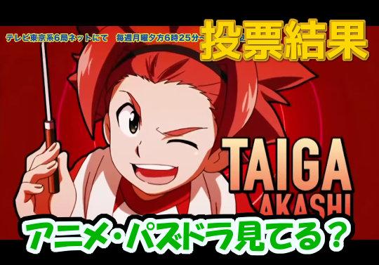 【投票結果】アニメ・パズドラ見てる?