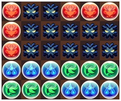 ソニアたまドラ降臨 6コンボパズル2