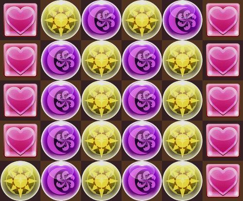 ④コットンを使う 三色陣からの6コンボ