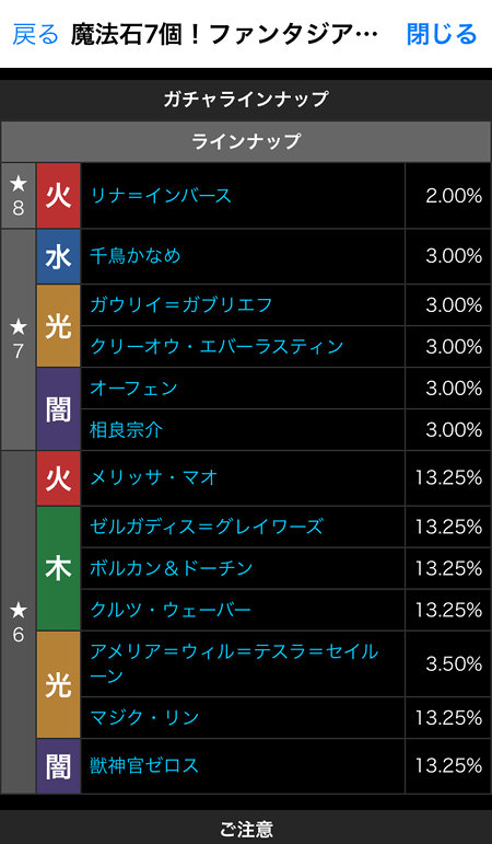 富士見ファンタジア文庫レジェンドガチャのラインナップ・的中率