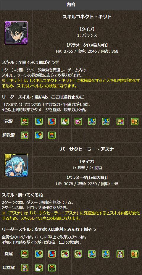 新たな進化形態が追加されるキャラクター2