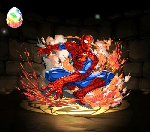 みずのんのMARVELコラボガチャ18回目 スパイダーマン