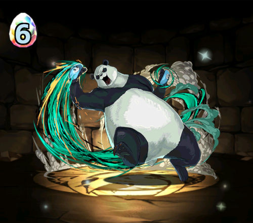 のっちの呪術廻戦ガチャ4回目 パンダ