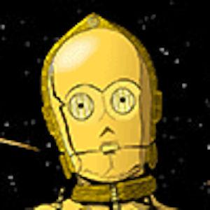 C3POの真顔