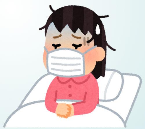 インフルエンザ、風邪、静養、安静、マスク