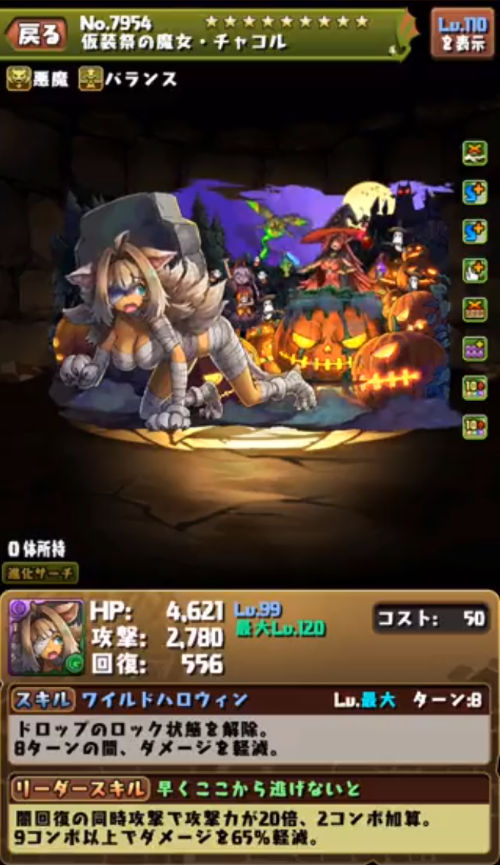 仮装祭の魔女・チャコル1