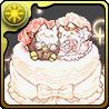 たまドラウェディングケーキ
