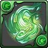 緑の妖火玉