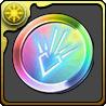 竜(ドラゴン)の紋章メダル【虹】