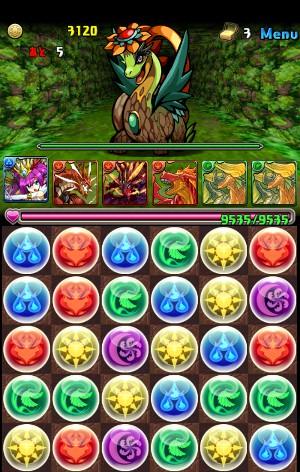 【樹の天空龍(回復無し)】深緑の空 超級 大花龍・ブラキオス